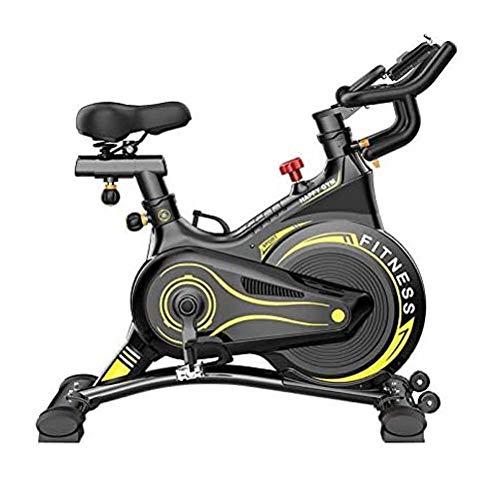 WJFXJQ Spinning Bicycle, Equipo de Aptitud en el hogar Pedal silencioso Bicicleta de Ejercicios, Asiento Ajustable y reposabrazos