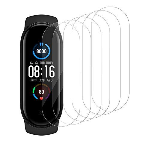 Snnisttek Protector Pantalla para Xiaomi Band 5, 5 Unidades Película Transparente Templada...