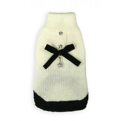Hip Doggie HD-7CLCC-L Classic Coco Mohair Sweater - Hundepullover, L