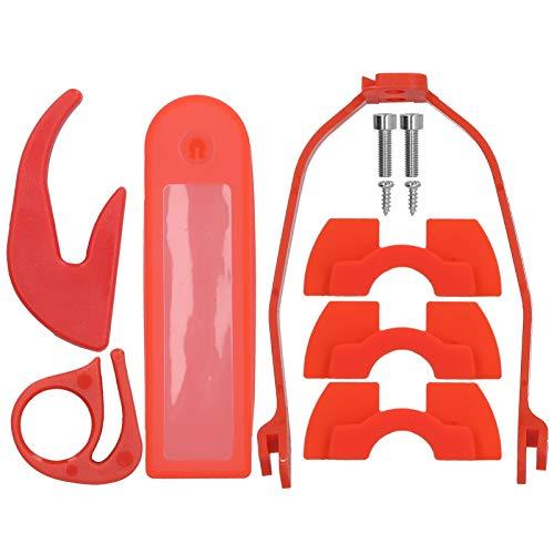 Cosiki Kit de Accesorios para Scooter, Tejido elástico con diseño de Gancho práctico Amortiguación para Scooter eléctrico, Gancho para Scooter eléctrico para X-IAOMI M365 / Pro
