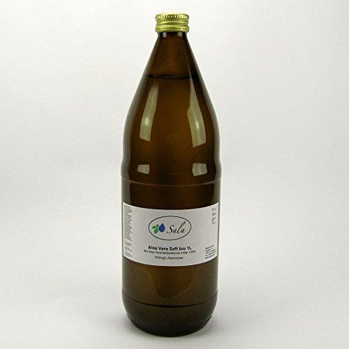 Sala Bio Aloe Vera Saft 100% Direktsaft 600mg/L Aloverose 1000 ml 1 L