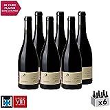 Vin de Savoie Mondeuse Elisa Rouge 2017 - Domaine Jean-François Quénard - Vin AOC Rouge de Savoie - Bugey - Cépage Mondeuse - Lot de 6x75cl - 18/20 La Revue du Vin de France