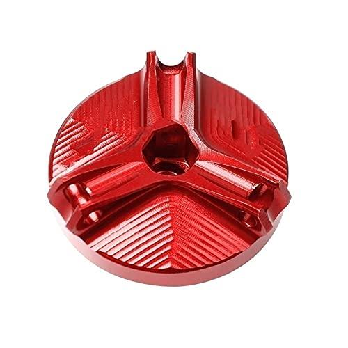Tapón Depósito Combustible Cubierta Enchufe Motor Taza Filtro Aceite Aluminio M20 * 2,5 Para Kawasaki Para Z800 Para Z650 Z900 Para Z400 Z1000 Z1000R Z1000SX Para Z900RS Tapa Tanque (Color : 1)