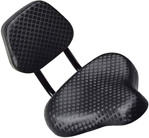 Grote fietszadel zitting en comfortabel kunstleer met File SuLIort