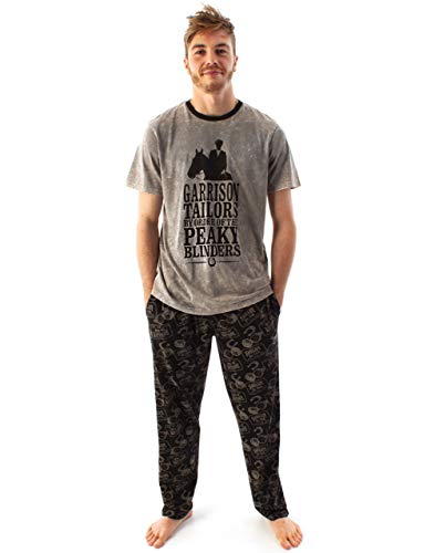 Peaky Blinders Pijamas Hombre Tommy Shelby Family T-Shirt & Lounge Pants PJ Set