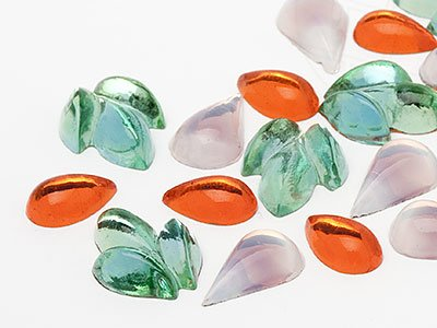 OPTIMA Pierres de gemme de Navette 6-14mm (Fable Mix), 30 Pièces