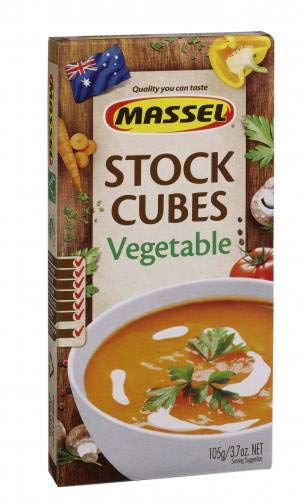 Massel Vegetable Style Stock Ultra Cubes 105g (pack of 1)