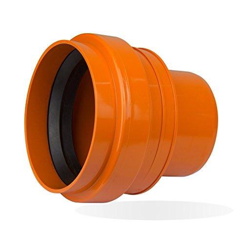 KG PVC Rohr Anschluss an Steinzeugrohr-Spitzende DN 200 KGUS PVC Abwasserrohr
