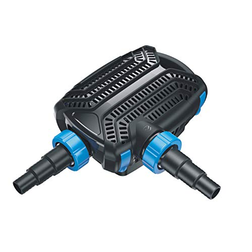 Pondlife - CTF-B 10000 Teichpumpe 80 Watt Eco Motor 10000 l/h 2in1 System Skimmer Förderpumpe Pumpe