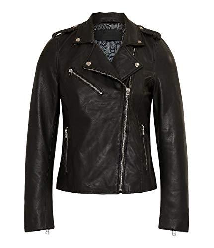 Goosecraft Leder Damen Jacken Bikers im Schwarz Größe:XL - GC Julia Biker