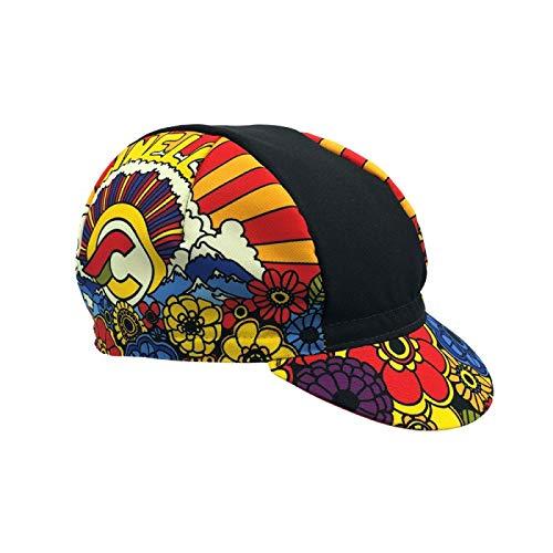 Cinelli West Coast Gorra para Hombre, Multicolor, Talla única