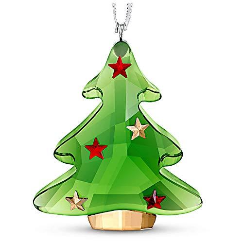 SWAROVSKI Green Tree Christmas Ornament, One Size