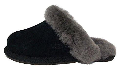 Ugg Australia  SCUFFETTE II, Damen Hausschuhe schwarz/grau 42 EU