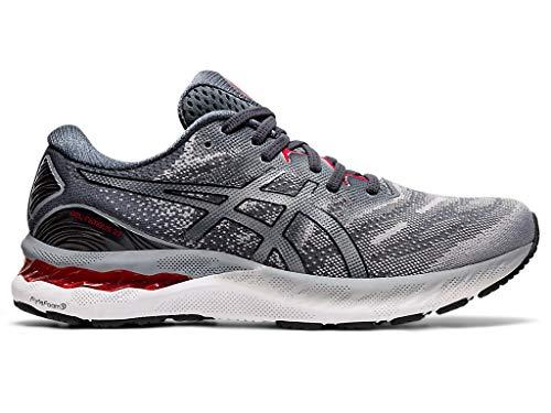 ASICS Men's Gel-Nimbus 23 Running Shoes, 11.5M, Sheet Rock/Black