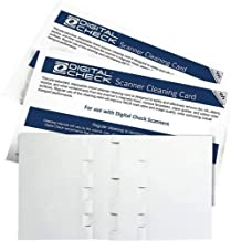 $99 » Digital Check Scanner Cleaning Card Featuring Waffletechnology (60)