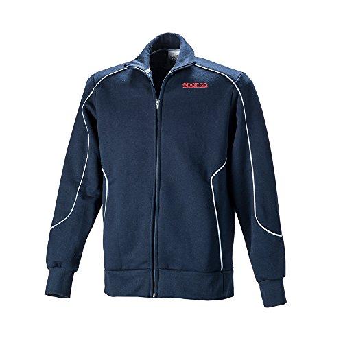 Sparco SP011749BM2M Navy Blauen Pullover Sweatshirt M