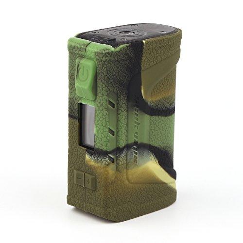 CEOKS for Geekvape Aegis Legend 200w Silicone Case, Protective Silicone Case Skin Rubber Cover for Geekvape Aegis Legend 200w Mod Box Rubber case wrap Shield, Anti-Slip & Durable (Camo)