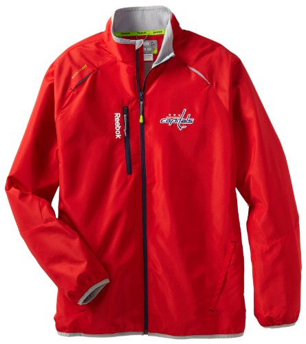 Reebok NHL Washington, Capitals Center Ice Kinetic Rink Jacke, Herren, Washington Capitals, Medium