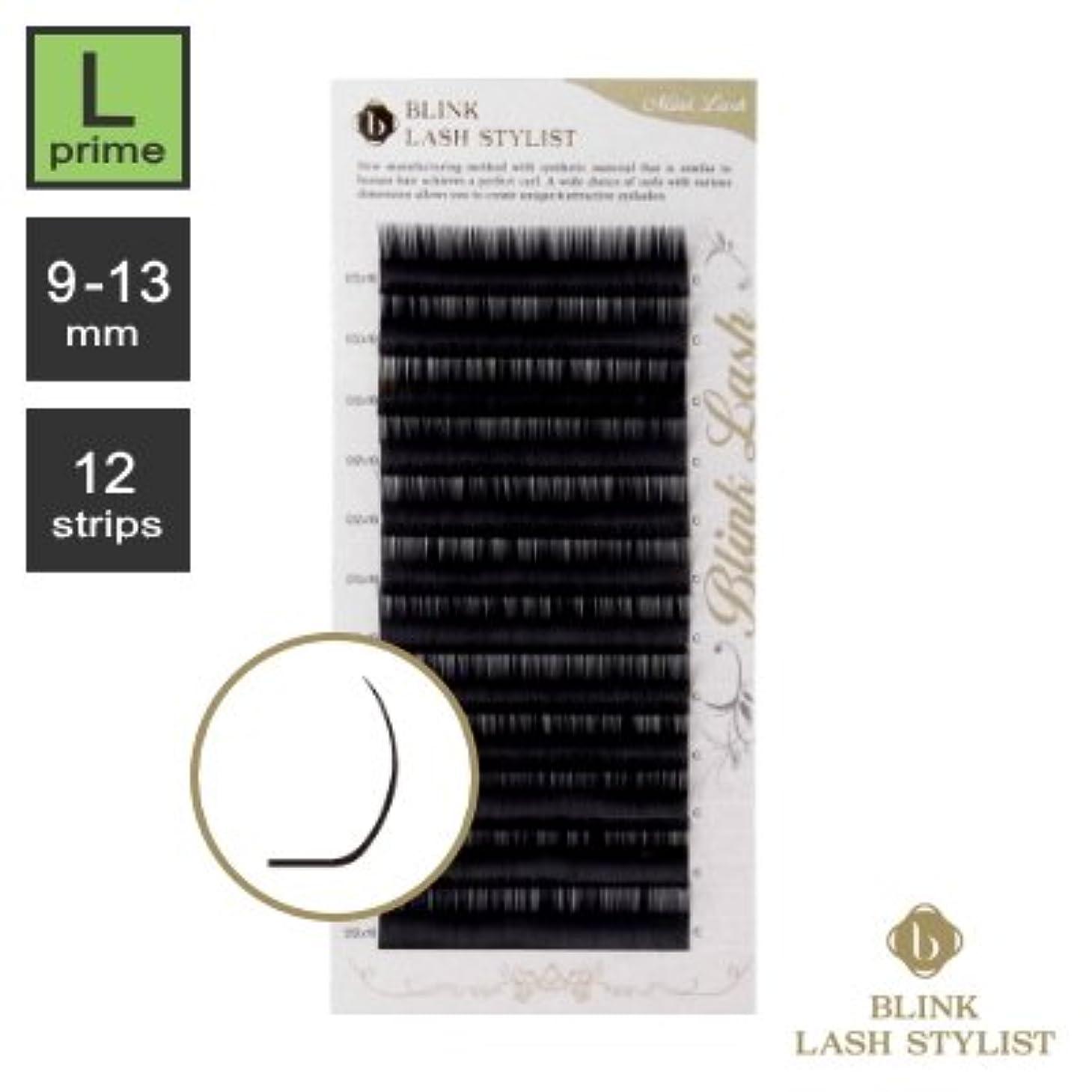 先例一目評価可能まつエク《世界初!レーザー加工》BLINK ミンクラッシュ (Lプライムカール) (12列) (0.15 / 13mm)