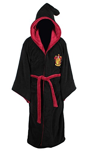 Harry-Potter-Gryffindor-Adult-Fleece-Hooded-Bathrobe-One-Size