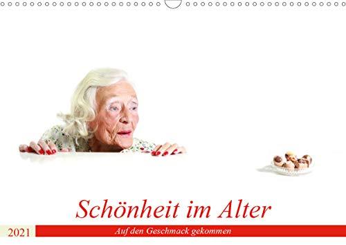 Schönheit im Alter - Auf den Geschmack gekommen (Wandkalender 2021 DIN A3 quer)