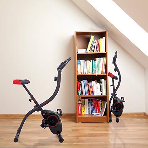 Ergometer Heimtrainer X-Bike: Klappbar & günstig Bild 6*