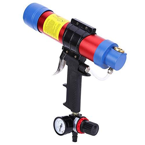 Weikeya Pistola de pegamento, válvula de escape, rasqueta neumática para herramientas, aleación de aluminio, fabricada para fotovoltaica.