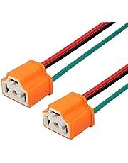 TOMALL H4 HB2 9003 cerámica hembra zócalo para LED reemplazo de linterna conector arnés de cableado kit de conversión