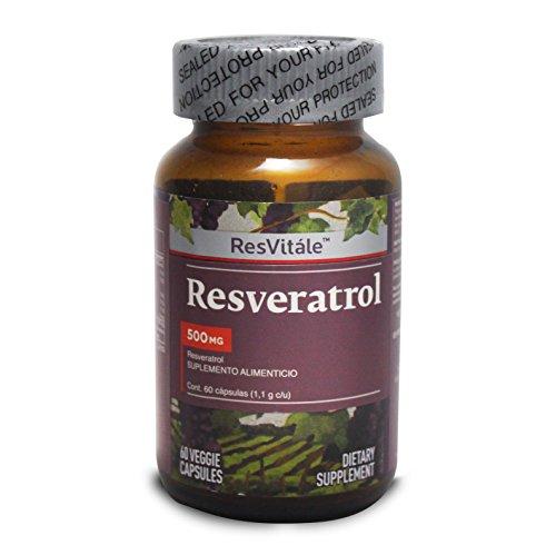 Resvitale Resveratrol 500 Mg 60 Capsulas Buy Online In Guyana