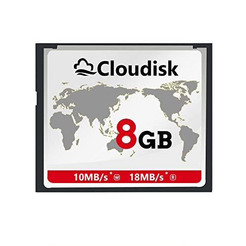 Cloudisk 8GB CF-Karte Compact Flash-Speicherkarte Leistung für Fotokameras