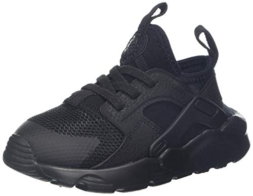 Nike Unisex-Kinder Huarache Run Ultra (td) Laufschuhe, Schwarz (Black/Black 004), 23.5 EU