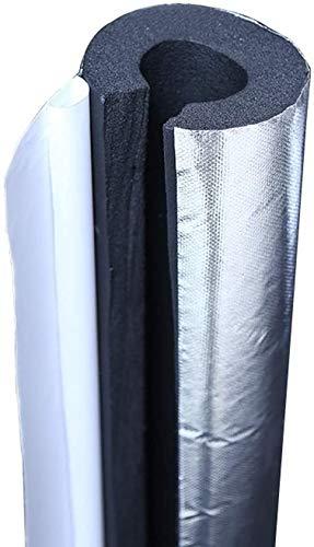 Tubo de polietileno de 3 pies de espesor de aislamiento de caucho de nitrilo, resistente al fuego/al agua, tubo de espuma de 20 mm (tamaño: 76 x 20 mm) JoinBuy.R
