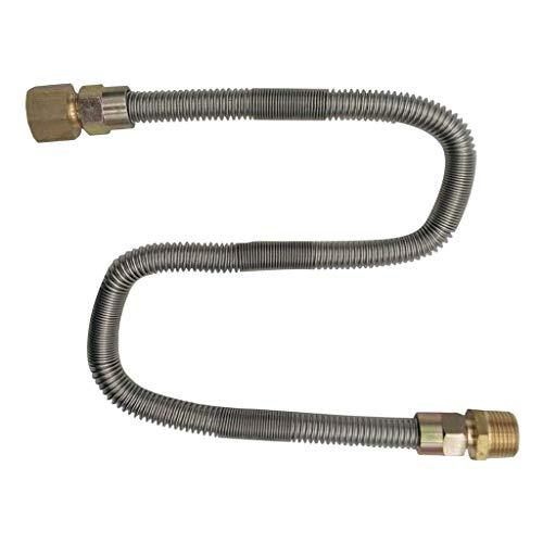 1/2 ''X 24'' Gasleitung Gasschlauch Aus Metall Mit Temperaturbeständigkeit- 1 Pc