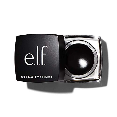 Cream Eyeliner, Water-Resistant Smudge-Proof, Black , 0.17 Ounce