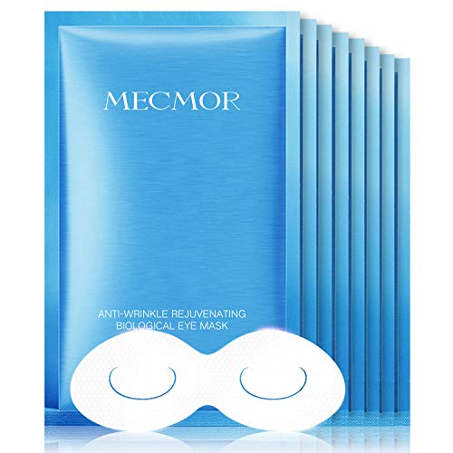 41va2F04lQL - MECMOR Anti-aging Eye Treatment Mask 8 Pairs for Reducing Fine Lines and Dark Circles, Eye Mask for Puffiness, Additive Free Tightening Moisturizing Hydrating Skin for Women and Men, For All Skin Type