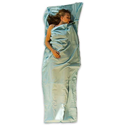 LOWLAND OUTDOOR Mummy Sac de Couchage Bleu 220 x 80 cm