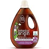 Botanical Origin Detergente para Lavadora Ecológico apto para Pieles Sensibles, Fragancia Jazmín Fresco y Lavanda Silvestre - 35 Lavados