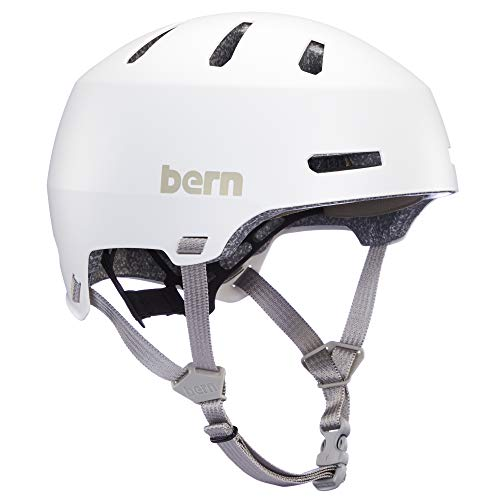 Bern Unisex Macon 2.0 Fahrradhelm, Weiß, Größe S