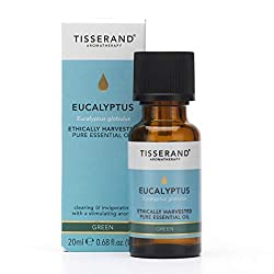 Ethically Harvested Eucalyptus pure essential oil 20 ml - 100 Percent Eucalyptus globulus Sharp, clearing and green with a very fresh aroma to help clear the head and refresh mental clarity - blends well with Grapefruit, Peppermint, Rosemary and Lemo...