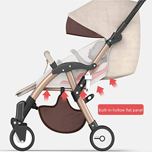 Amazing Deal Stroller Stroller Can Sit Reclining Folding Light High Landscape Ultra Light Small Port...
