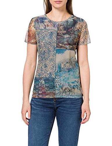 Desigual TS_Ocean Camiseta para Mujer