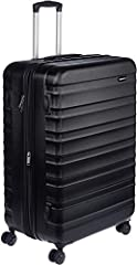 Large 30-inch hardside spinner luggage - ideal for trips lasting longer than a week Interior capacity: 105 Liters, Suitcase Dimensions: Outer (including wheels): 53 x 32 x 78 cms; Interior: 49 x 30 x 71 cms
