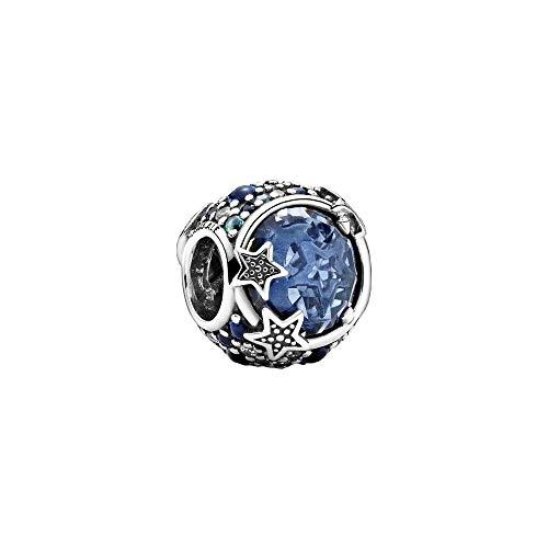 PANDORA 天体ブルースパークリングスターチャーム