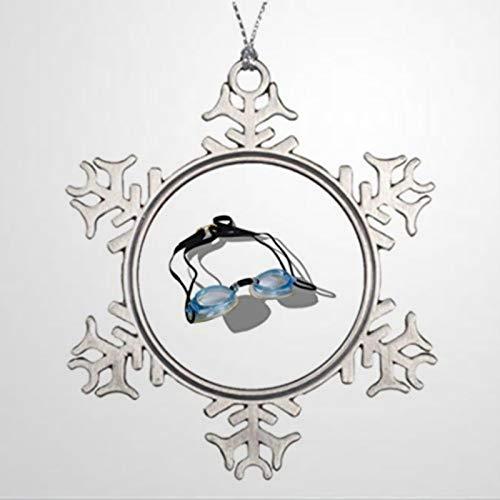 BYRON HOYLE Natación Personalizada Ornamentos de Navidad Compite Adornos Online Navidad copo...