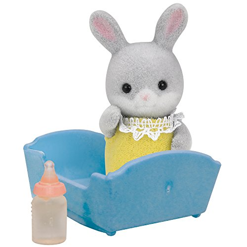Sylvanian Families - 5064 - Bebé Conejo Colita de Algodón
