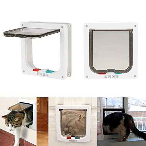 GOTOTOP Gotopop, gattaiola Intelligente con Serratura per Piccoli Animali Domestici con Fodera