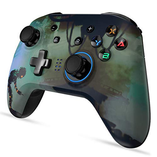 EasySMX Pro Wireless Controller for Nintendo Switch, Controller for Nintendo Switch with Motion & Dual Vibration, Wireless Controller for Switch Console[2020 New Version]