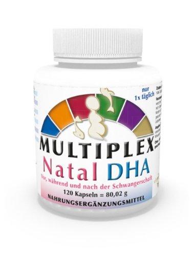 Complejo Multivitamínico Prenatal DHA 120 Cápsulas Omega 3 + Vitaminas Vita World