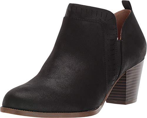 Life Stride Women's Jovie Ankle Boot, Black, 8 Wide