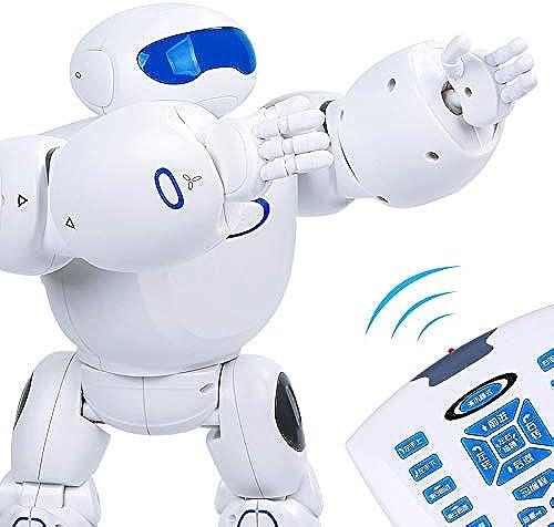venta mundialmente famosa en línea RCTecnic - Robotics Robotics Robotics Robot Teledirigido Programable para Niños Star Warrior   Saluda, Baila y es Ideal para Aprender Inglés   RC Juguete Robotica Educativa Infantil  centro comercial de moda